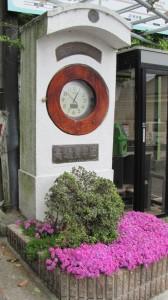 1864ポイントの時計台(近鉄てくてく奈良-8まっぷ)