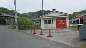 奈良市消防団精華分団 高樋町ポンプ格納庫