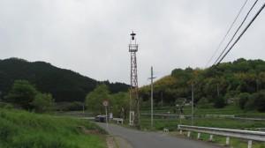 2437ポイントの火の見櫓(近鉄てくてく奈良-8まっぷ)