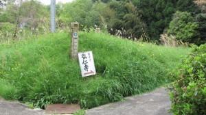弘仁寺への歩行者参道
