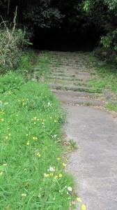 弘仁寺への参道