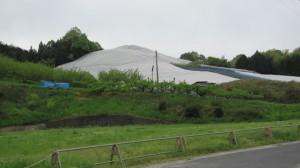 5409ポイント付近からの前方の風景(近鉄てくてく奈良-8まっぷ)