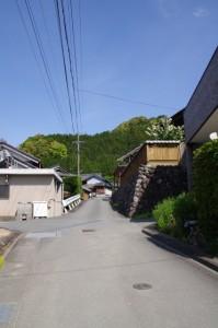 和歌山別街道(多気町長谷付近)