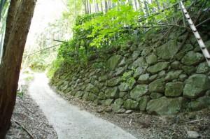 石垣(長谷観音道)