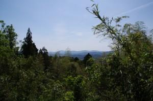近津長谷城跡(城山)からの風景