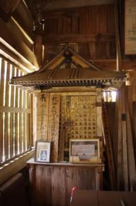 疱瘡守護神(近長谷寺 本堂)