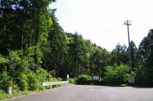 近長谷寺の駐車場