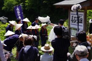 修祓(長谷の車田御田植祭)