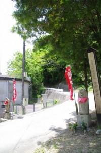 金剛座寺の参道