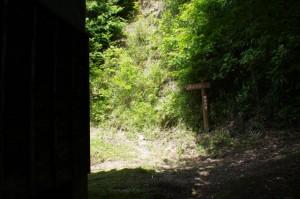 近長谷寺への道標(金剛座寺)