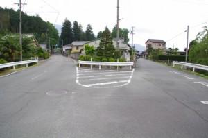 珍布峠ウォーキングコース・マップ (3)付近