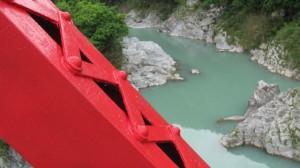 野々口橋から望む櫛田川の上流方向