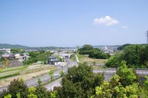 志摩市歴史民俗資料館付近からの風景