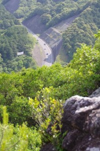 おうむ岩展望台からの眺望