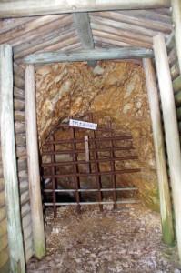古代水銀採掘坑(丹生水銀鉱跡)