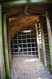 昭和水銀採掘坑道(丹生水銀鉱跡)