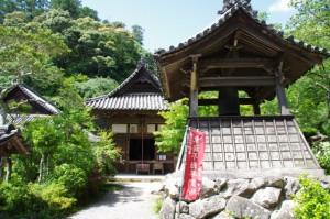 護摩堂と吊鐘堂(丹生大師 神宮寺)
