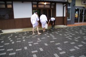 夏至祭(二見興玉神社)の後で