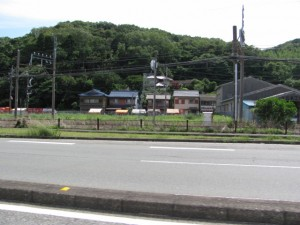 赤崎神社の周辺(赤崎祭の当日)