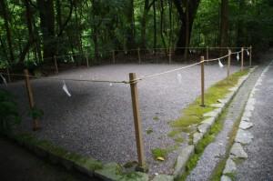 斎館近くの祓所(外宮)