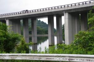 伊勢自動車道(千の杜付近)