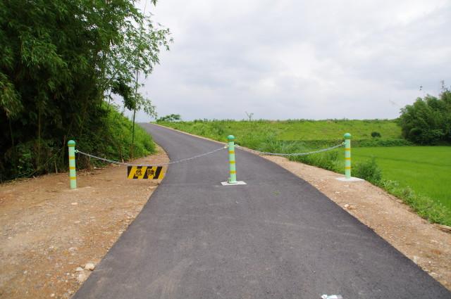 宮川右岸堤防(特別緊急工事後)