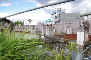 再開発予定の伊勢市駅前(南口)