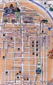 伊賀上野総地図の一部