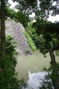 高石垣(伊賀上野城)