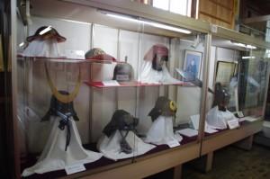 伊賀上野城の展示品