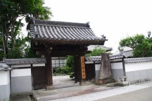 妙昌寺(伊賀市上野寺町)