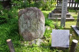 芭蕉の句碑(菅原神社)