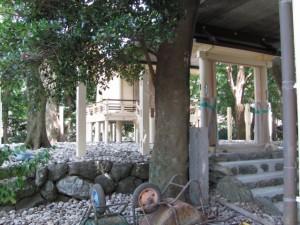 本殿(日保見山八幡宮)