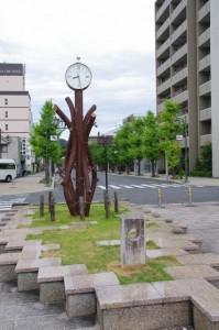 近鉄 橿原神宮前駅前