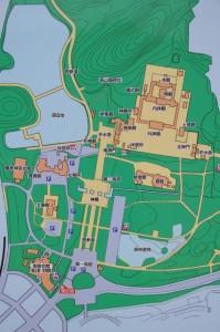 橿原神宮境内案内マップ