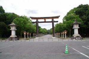 第一鳥居(橿原神宮)