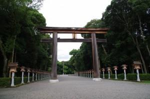 第二鳥居(橿原神宮)