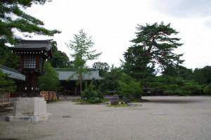 さざれ石付近(橿原神宮)