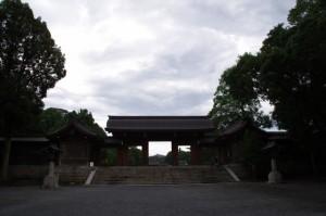 橿原神宮 北神門付近