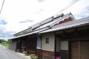 法然寺付近の住宅