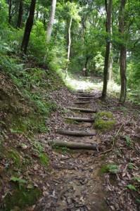 伊弉冊神社(下の御前)から香久山山頂へ