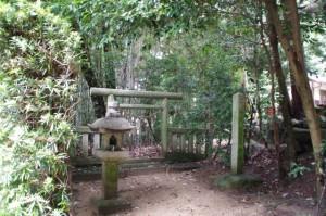 明治天皇遥拝所(天香山神社)