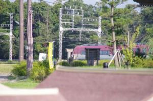 近鉄 赤い伊勢志摩ライナー(斎宮駅付近通過)