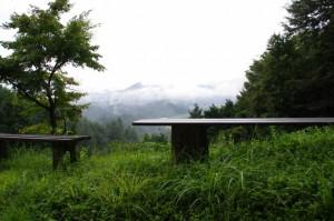 夕日ヶ丘展望台(長谷の車田から近長谷寺への林道)
