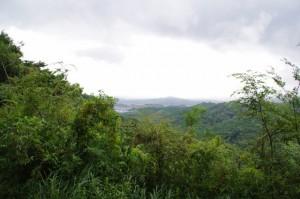 歴史の散歩道 神坂展望施設からの眺望