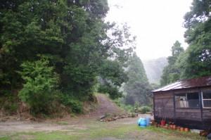 金剛座寺付近