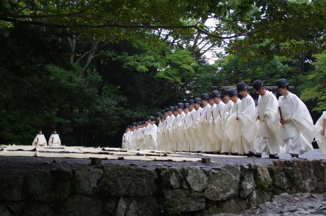 秋季皇霊祭遥拝(2012) – 神宮...
