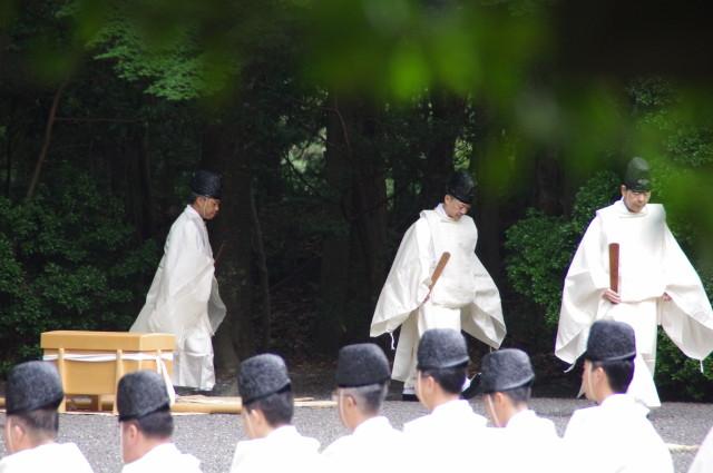 秋季皇霊祭遥拝(2012)