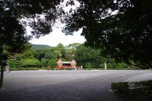 秋季神楽祭 舞台(内宮神苑)