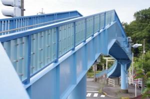 中村歩道橋(国道23号線)